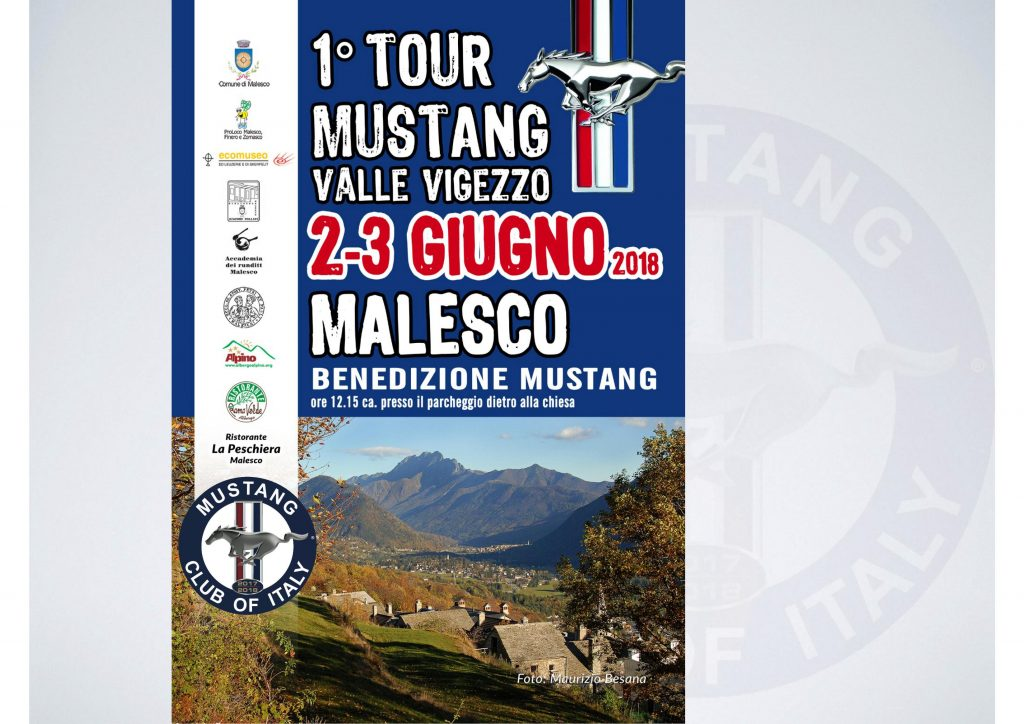 1 tour valle vigezzo 2 3 giugno 2018 mustang club of italy. Black Bedroom Furniture Sets. Home Design Ideas
